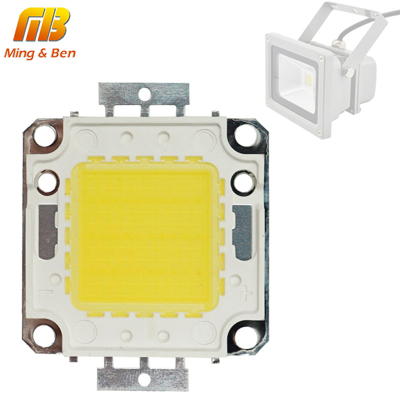 LED Chip 10W 20W 30W 50W 70W 100W 30-32V Cool White Warm White LED Beads DIY For LED Flood Light Spotlight 45*45mil High Power