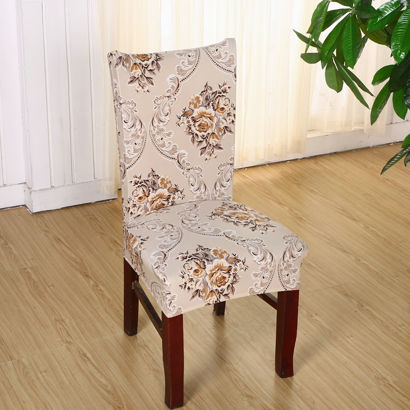 Polyester Spandex Chair Covers Printed Elastic Dining Chair Covers For  Wedding Party European style Chair Covers - Compare Prices On European Dining Chairs- Online Shopping/Buy Low