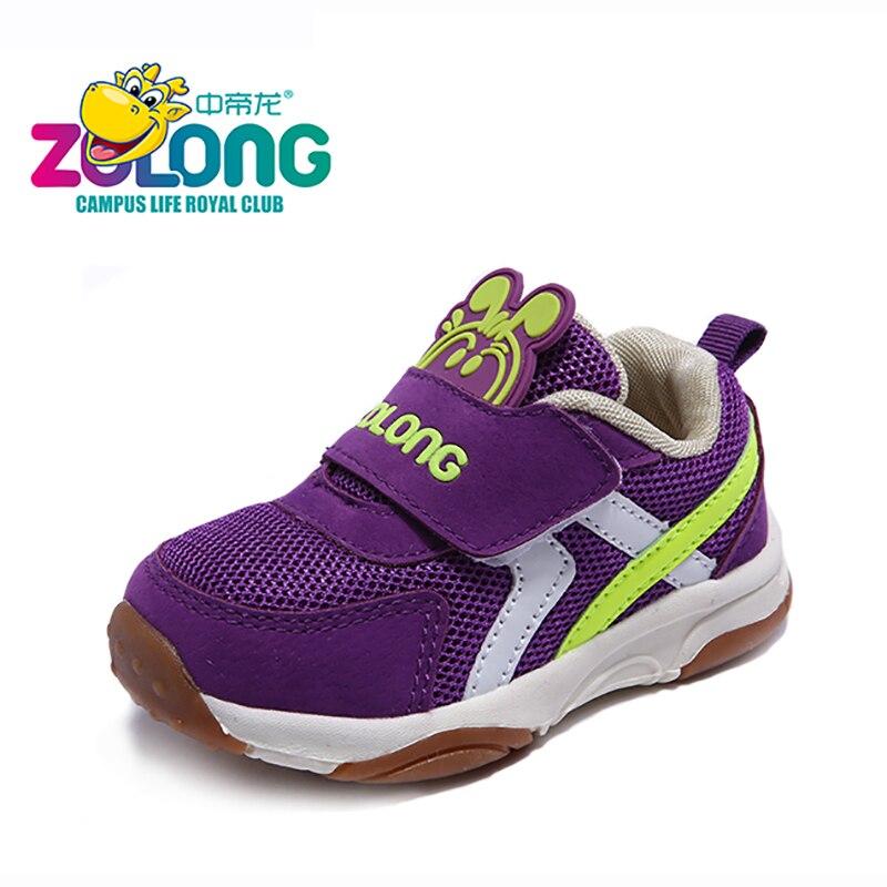 Dziecięce buty na 1-4 rok Air Mesh Oddychająca haczyk i pętla Moda - Obuwie dziecięce - Zdjęcie 2