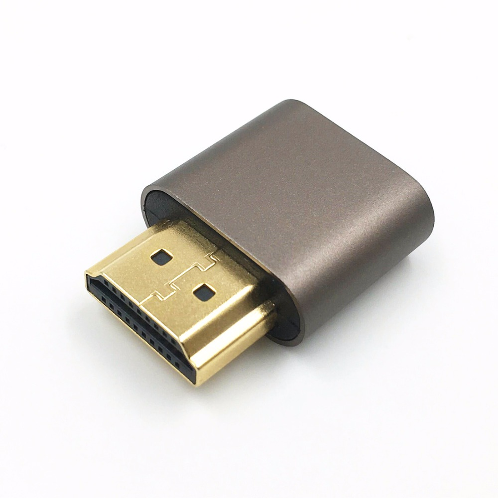 FUERAN HDMI 3 / st Dummy Plug DDC EDID Huvudlös Ghost, Display - Datorkablar och kontakter - Foto 3