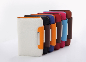 Free Shipping! PU Leather Case cover for THL W8 LT18