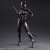 PLAY ARTS 27cm Catwoman Action Figure Model Toys