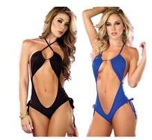 Stretch hollow piece bikini