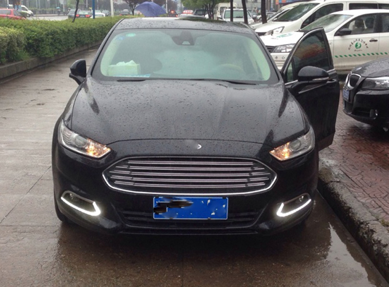 Car Flashing 1pair Drl For Ford Mondeo Fusion 2013 2014