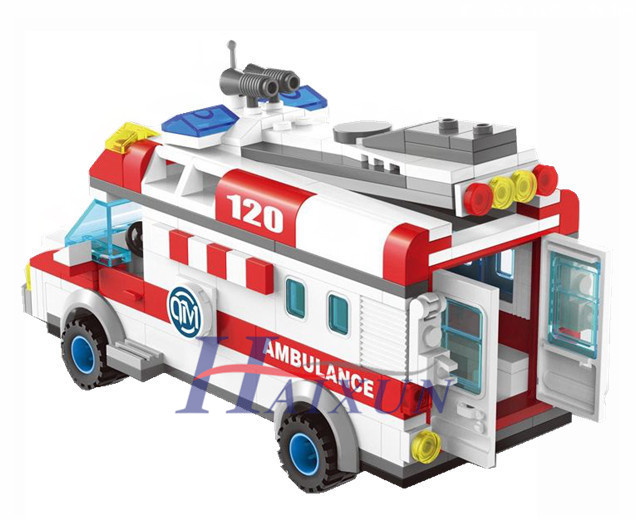 2017 Enlighten 1118 Block Ambulance Series Diy Bricks ...