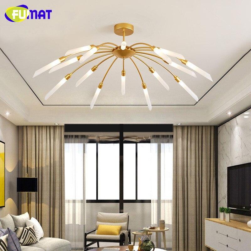 FUMAT Modern Simple Living Room Ceiling Lights LED Bedroom Lamp Art Children Room Fireworks Ceiling Lamp