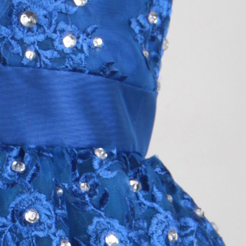 Royal Blue Short Flower Girl Dresses Organza Crystal Sequins Ball Gowns  Girls Pageant Gowns Kids Princess Girls Dress Tutu-in Flower Girl Dresses  from ... 27458a3b66b8