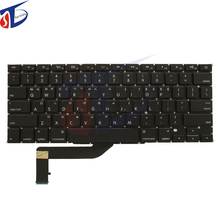 Original for Apple Macbook retina 15.4inch A1398 America Korean US KR keyboard without backlight backlit Early 2015year