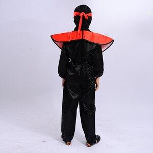 Image 5 - النينجا زي الاطفال Ninjago ازياء هالوين زي للأطفال فستان بتصميم حالم حتى أنيمي أزياء تنكرية النينجا تأثيري disfres