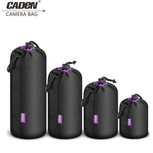 CADeN Camera Lens Pouch Photo Protective Lens Box Soft Neoprene DSLR Camera Lens Bag Case H11 стоимость
