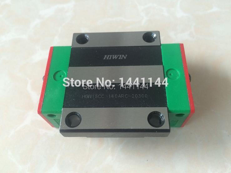 HGR15 HIWIN linear rail: 4pcs HGW15CA 100% New Original HIWIN brand linear guide block for HIWIN linear rail HGR15 CNC parts cnc hiwin hgr15 1700mm rail linear guide from taiwan