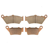 Motorcycle Parts Copper Based Sintered Motor Front & Rear Brake Pads For BMW F650GS F 650GS 650 GS F650 GS 1999 2011 Brake Disk
