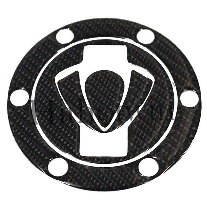 for K for BENELLI 2007 2008 2009 2010 2011 3D carbon fiber fuel tank cap affixed to sharp