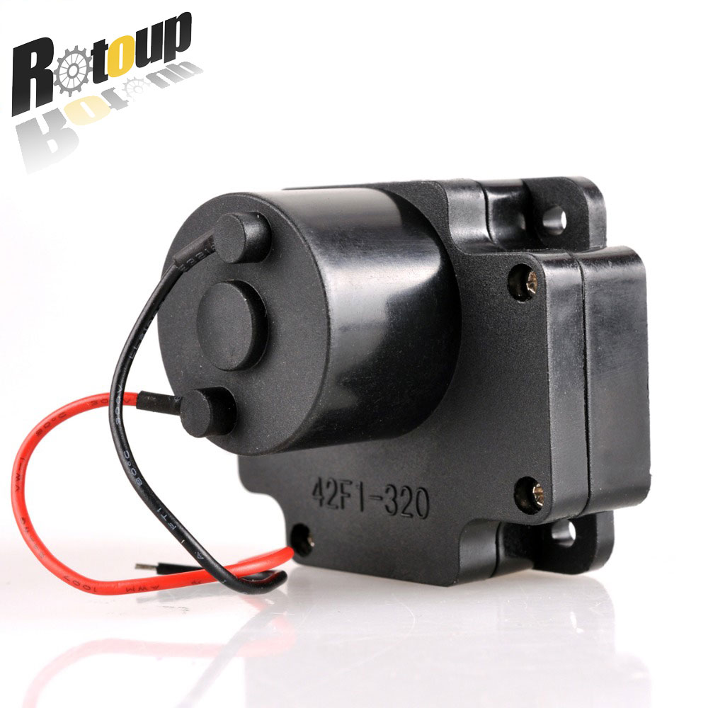 Rotoup Drive metal gear motor Electronic module electric lock motor DC Slow Down DIY miniature tiny motor Toy 42F1 320 #RBP040 diy 24 national flag patterns electric paper airplane module toy multicolored