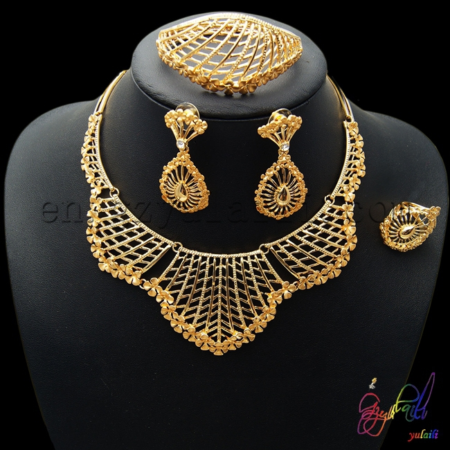 Free shipping perfect design jewelry set gold plated Arabic bridal jewelry sets smart jewelry set-in Jewelry Sets from Jewelry u0026 Accessories on ... & Free shipping perfect design jewelry set gold plated Arabic bridal ...