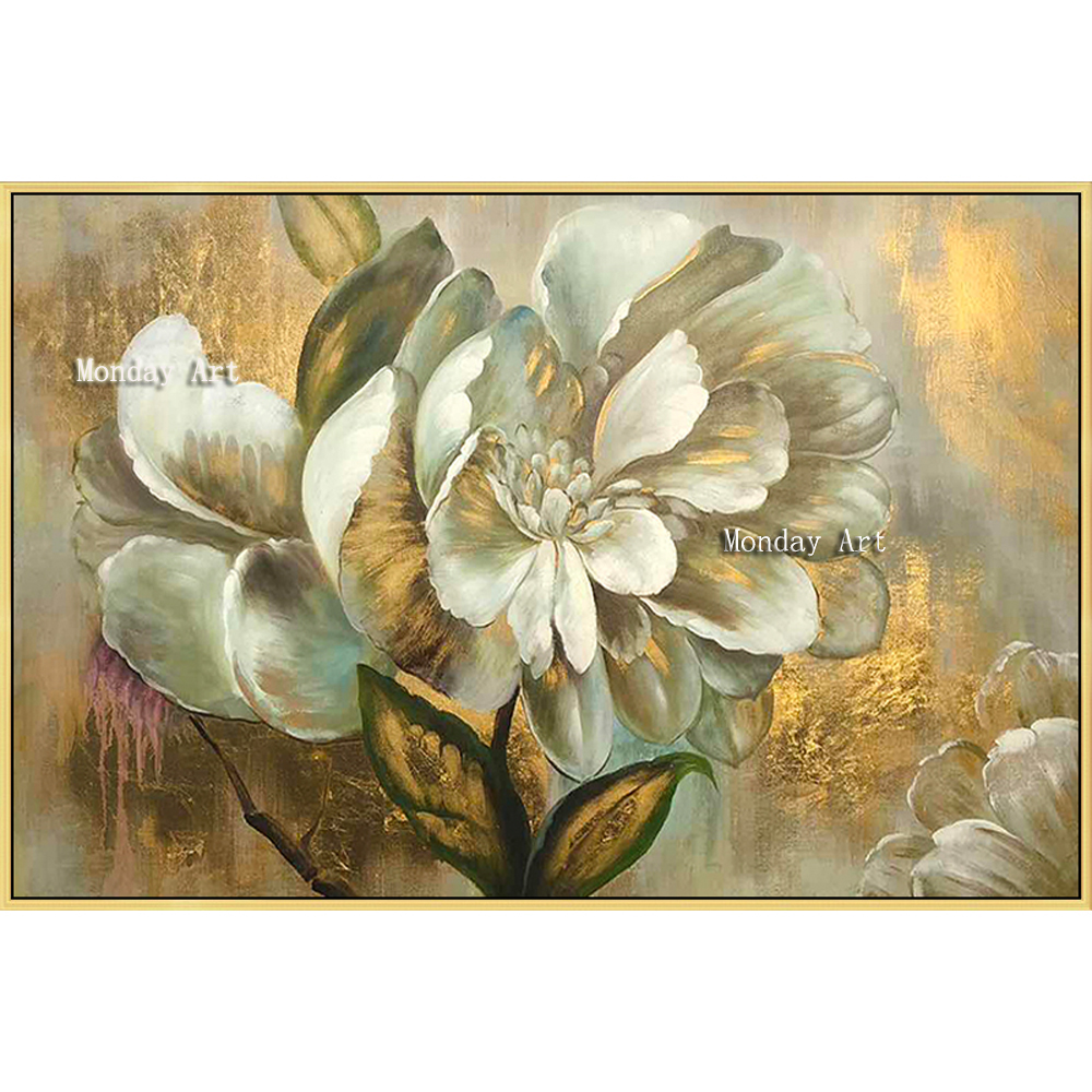 p The-100-Hand-painted-abstract-golden-flower-Oil-Painting-On-Canvas-Wall-Art-Wall-Pictures-Painting (8)