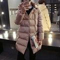 Горячая продажа 2016 осень и зима новый длинный абзац хлопок мужская с капюшоном пальто плюс размер М-5XL 3 цвета по желанию