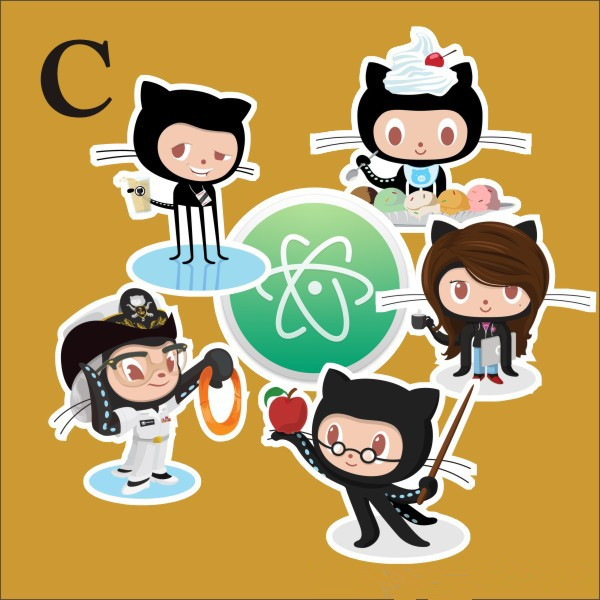 US $1 89 |TD ZW 4 Combinations Github Octocat Sticker For Car Laptop  Luggage Skateboard Motorcycle Snowboard Phone Case Decal Stickers-in  Stickers