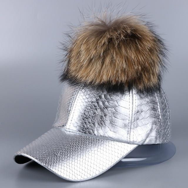 Mujeres de lujo pompom invierno sombrero basell cap Mejor calidad de la  marca de La Pu 140bec009841
