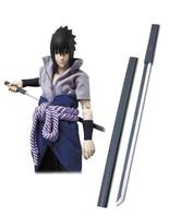 Free Shipping Naruto Uchiha Sasuke Black Kusanagi Cosplay Wooden Weapons