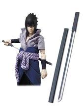 Free Shipping font b Naruto b font Uchiha Sasuke Black Kusanagi font b Cosplay b font