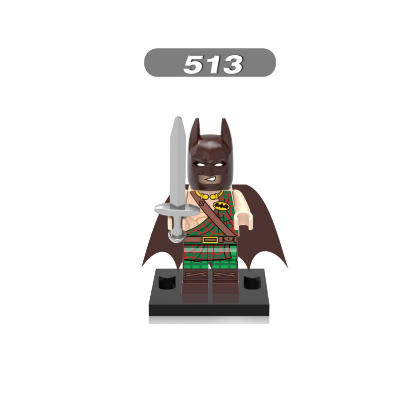Blocks Audacious Single Sale Super Heroes Star Wars 513 Tartan Batman Model Building Blocks Figure Bricks Toy Kids Gift Compatible Legoed Ninjaed Beneficial To Essential Medulla Toys & Hobbies
