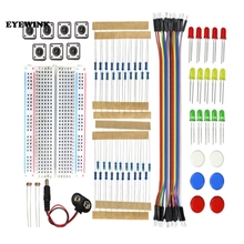 Starter Kit UNO R3 Mini Breadboard LED Jumper Wire Button for arduino Diy Kit