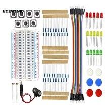 Zestaw startowy UNO R3 Mini Breadboard LED kabel mostkujący przycisk do zestawu arduino Diy