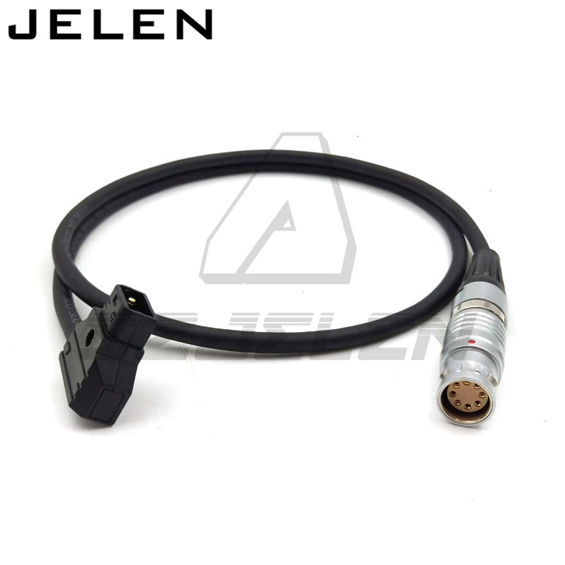 Anton Bauer Power D Tap to lemo connector FGJ.3b 8pin Female for Sony F65 Camera power cable . 1m