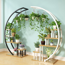 Étagères à plusieurs niveaux pour décoration du salon, de la maison, de la maison, des fleurs, pot avec cadre en fer pour décoration, nouveau salon, balcon