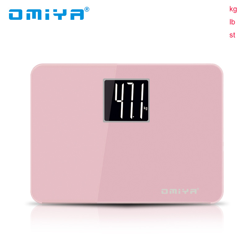 Candy Color Portable Mini Smart Scale LED Digital Display Weight Weighing Floor Electronic Smart Balance Body Household Bathroom