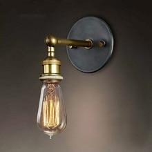 Lámpara de pared estilo industrial Vintage tienda interior dormitorio baño bar o balcón pasillo luces decoración sala