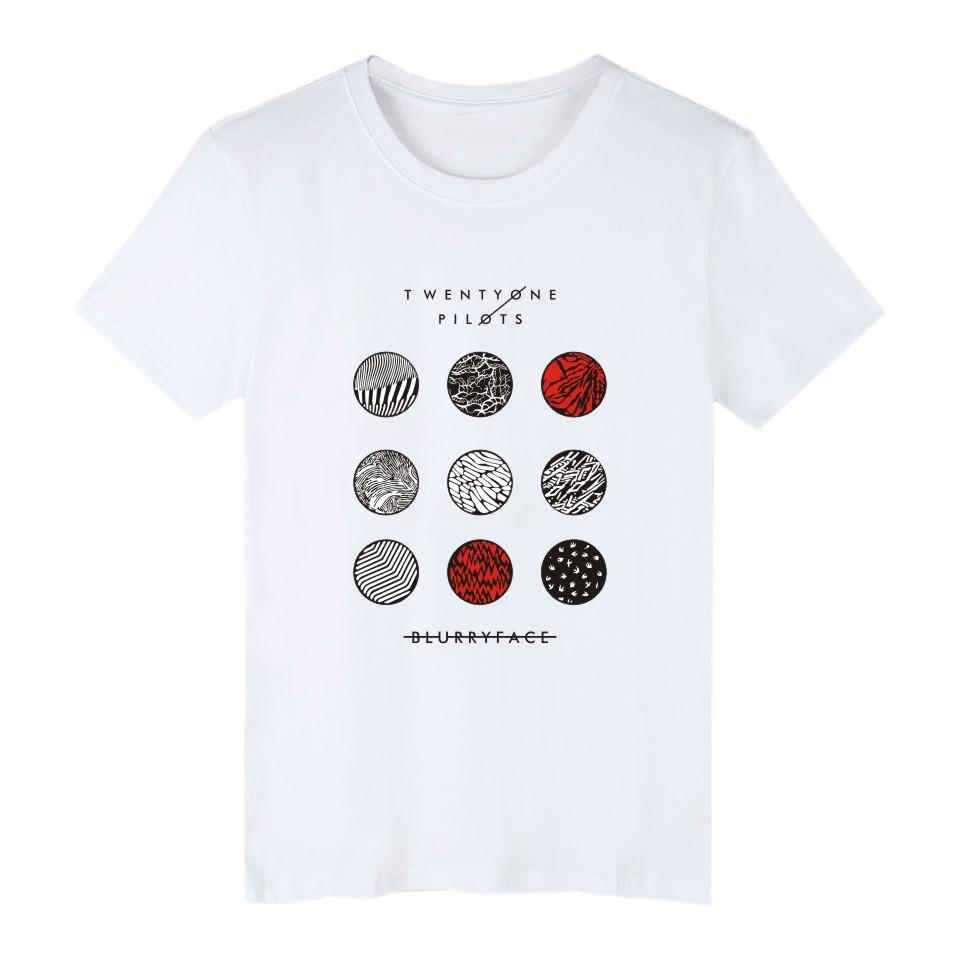 HTB1iUZ.PpXXXXauXVXXq6xXFXXX6 - New Twenty One Pilots T Shirt Cotton Short Sleeve Tops Plus Size 4XL