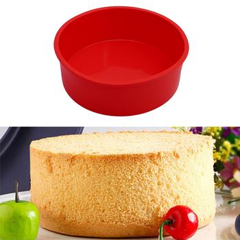 3D okrągłe formy silikonowe formy ciasto Pan Muffin ciasto dekorowanie narzędzia ciasto blacha do pieczenia formy wzornik naczynia kuchenne do pieczenia tanie i dobre opinie EH-LIFE CN (pochodzenie) Wkładki do pieczenia Na stanie Ekologiczne Cake Mold SILICONE cake decorating tools dessert tools