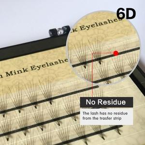 Image 5 - 50 cases NAGARAKU Eyelash Extensions 2D 6D Premade Volume EyeLashes false eyelashes 0.07mm C curl soft and natural faux Mink