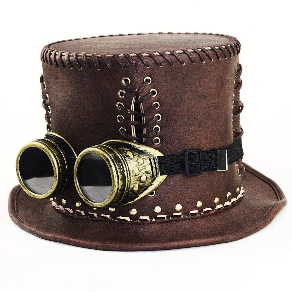 Women Retro hat Victorian Steampunk Industrial gentleman Lolita Dance party Hat Halloween Cosplay Props