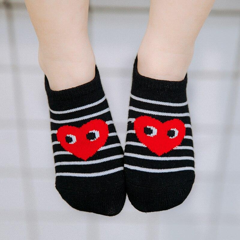 MAINEOUTH 5 paar / stuk 1-12 jaar lente zomer hart enkel sokken - Kinderkleding - Foto 5
