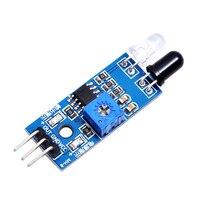 Smart Auto Hindernis Vermeidung Sensor Modul Barrier IR Infrarot Modul Photoelektrische Reflexion Sensor 3 Draht für Arduino-in Sensor & Detektor aus Sicherheit und Schutz bei