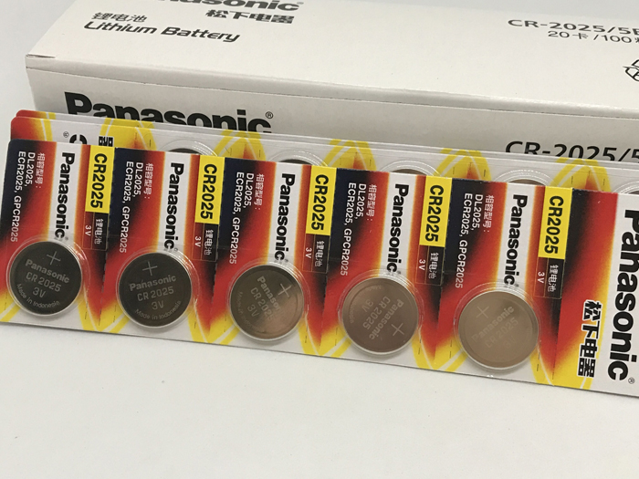 Original para Panasonic Botão de Célula tipo Moeda Baterias para Assista Lote Nova Bateria Cr2025 3v Computer cr 2025 200 Pçs –