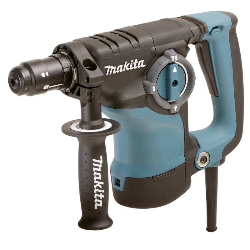 Hammer Drill electric Makita HR2811FT (Type Chuck SDS +, no load speed 1100 rev/min, 4500 beats per minute) цена 2017