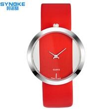 2016Hot Sale SYNOKE Moda Relógios Mulheres Quartz Relógio de Pulso Feminino Relógio De Quartzo-relógio Relogio feminino Montre Femme 3616