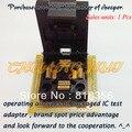 IC ТЕСТ IC51-0644-807 IC Гнездо TQFP64/QFP64 Тест Гнездо Шаг 0.5 мм Размер: 10x10/12 х 12 мм