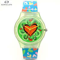 WILLIS Brand Watch Women Colorful Jelly Watches Children Clock Silicone Band Quartz Wristwatches 30M Waterproof Sports