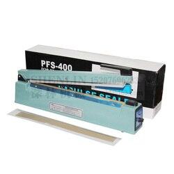 Shenlin Manual Impulse Sealer Plastik Tas Penyegelan Mesin Genggam Aluminium Foil Paket Sealer SF400 110 V/220 V 400 MM * 3 Mm Logam