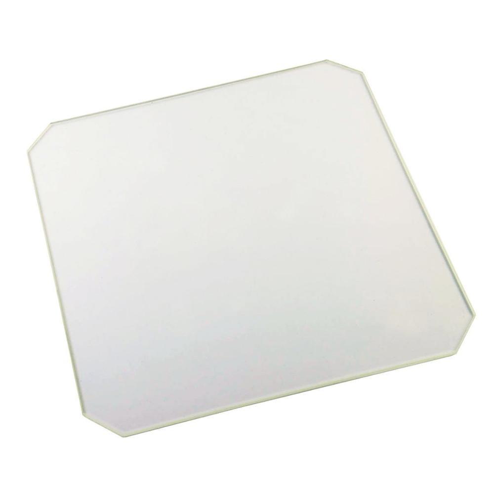 Funssor Borosilicate Glass plate for Wanhao Duplicator i3 Anet A8 MP Maker Select 3D Printers wanhao duplicator i3 plus 3d принтер