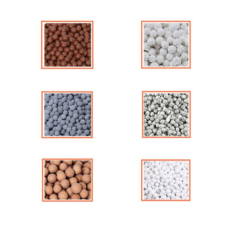 Far Infrared Maifan Stone Calcium Sulfite Silver Ion Antibacterial Ceramic Ball Alkaline Tourmaline ORP Magnesium Granules 3-5mm