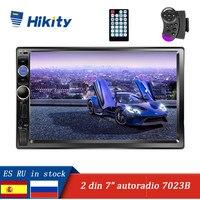 Hikity Car MP5 Player Autoradio 2din Stereo Touch Screen Auto Radio Backup Camera Multimedia Player USB TF FM Audio Radio