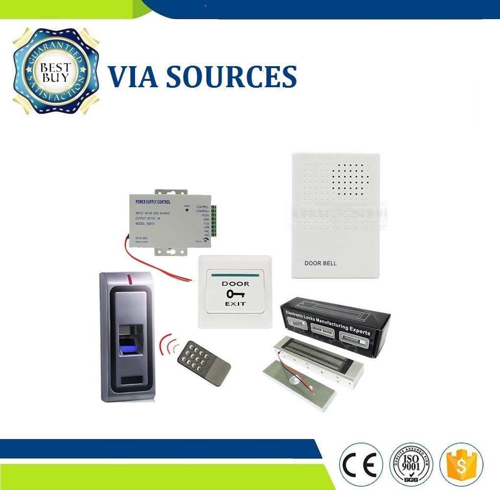 Direct Factory Control Kits Standalone Door lock Biometric Fingerprint Control Multipul Full Choices Access Metal Case fateful choices