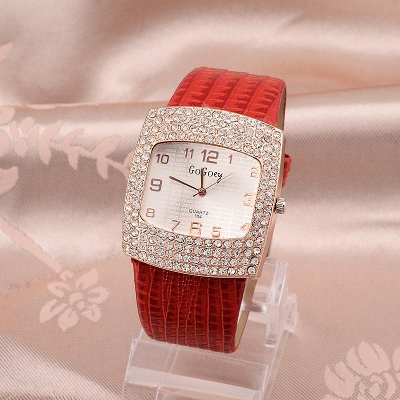 Dames Horloge Beroemd Gogoey Merk Diamant Decoratie Horloge Dames - Dameshorloges - Foto 3