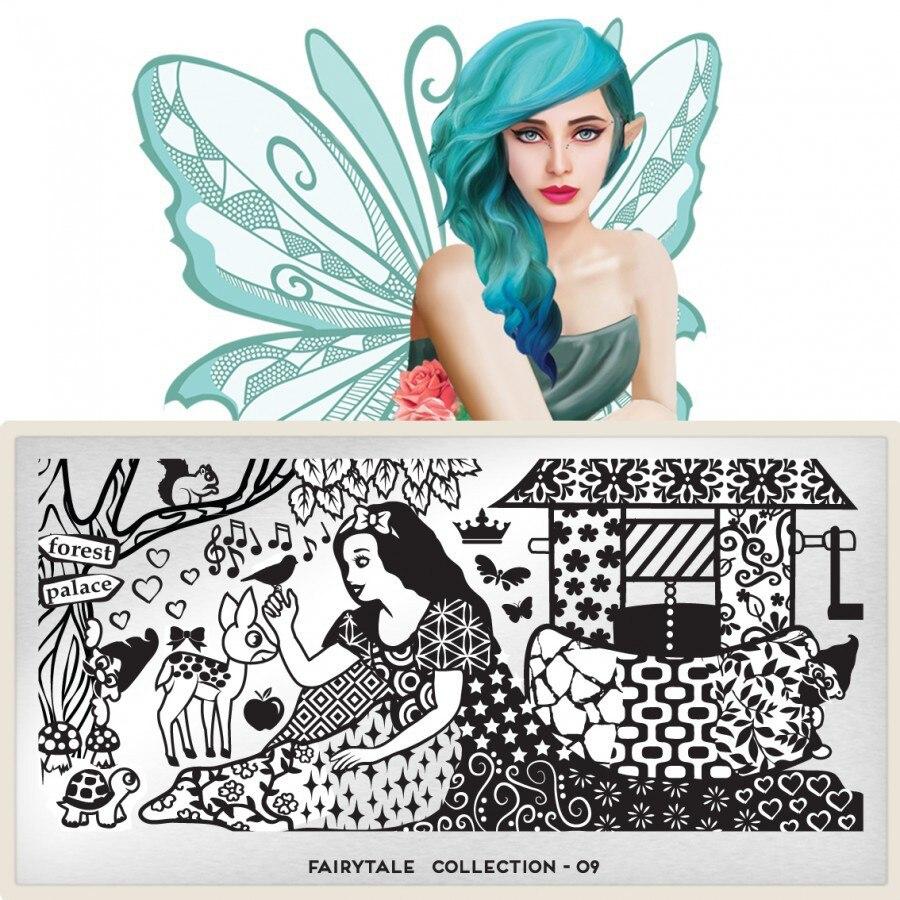 Flor y Diseños de Dibujos Animados 10 Pc/lot Nuevo 6*12 CM Herramienta Del Clavo